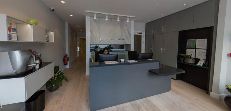 The Dental Centre Reception Area