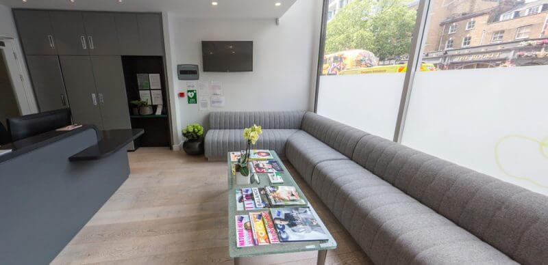 The Dental Centre Waiting Area